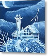 The Haunted Metal Print by The GYPSY And DEBBIE