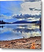 The Lake Metal Print by Dave Woodbridge
