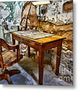 The Lamp And The Chair Metal Print by Paul Ward