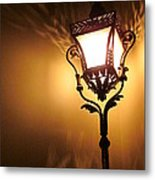 The Light Dances Metal Print