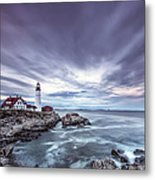 The Motion Of Light Metal Print