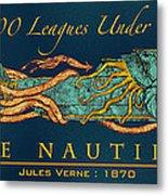 The Nautilus Metal Print