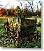 The Old Conestoga Metal Print by Julie Dant