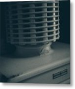 The Old Ice Box Metal Print by Edward Fielding