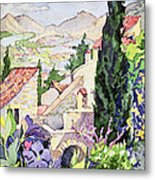 The Old Town Vaison Metal Print