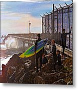 The Point Of No Return Metal Print by Ron Regalado