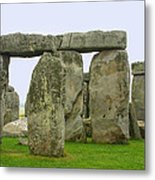 The Real Stonehenge Metal Print