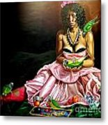 The Sacrafice Of Montynegro Metal Print by Shelley Laffal