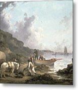 The Smugglers, 1792 Metal Print