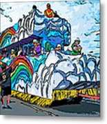 The Spirit Of Mardi Gras Metal Print