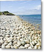 The Stones On Beach Metal Print by Boon Mee