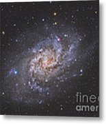 The Triangulum Galaxy Metal Print by Reinhold Wittich