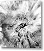 The Warping Eye Metal Print by Frederico Borges