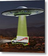 The Wine-oh-store Metal Print by Mike McGlothlen
