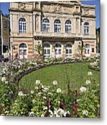 Theater Building Baden-baden Germany Metal Print by Matthias Hauser