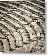 Theatre At Epidaurus Metal Print