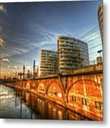 Three Towers Berlin Metal Print