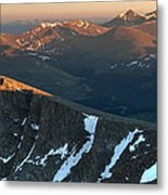 Tip Of The Tooth Metal Print by Mike Berenson