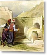 Tomb Of Joseph At Shechem 1839 Metal Print