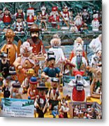 Toys And Nutcrackers For Sale Metal Print