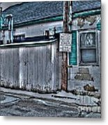Trailer Park Community Center Metal Print by MJ Olsen