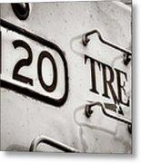 Tre 120 Metal Print by Joan Carroll