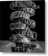 Tree Deconstructed Metal Print by Edward Fielding