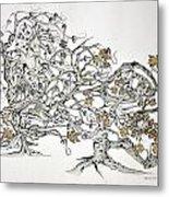 Tree Witch Metal Print by Glenn Calloway