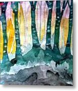 Treess Metal Print by Amy Sorrell