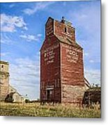 Twin Gain Elevators Metal Print