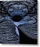 Twisted Tree Metal Print by Jean Noren