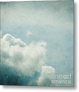 Up There Metal Print by Violet Gray