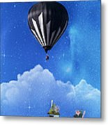 Up Through The Atmosphere Metal Print by Juli Scalzi