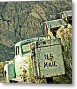 Us Mail Metal Print by Merrick Imagery
