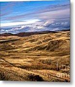 Vast View Of The Rolling Hills Metal Print by Robert Bales
