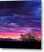 Vibrant Sunrise Metal Print by Tim Buisman