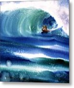 Vibration Of Youth Metal Print
