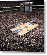Villanova Wildcats The Pavilion Metal Print