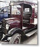 Vintage Chevrolet Pickup Truck Metal Print