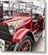 Vintage Studebaker Fire Engine Metal Print by Douglas Barnard