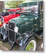 Vintage Truck  Metal Print by Max Lines