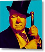 W C Fields 20130217m135 Metal Print by Wingsdomain Art and Photography