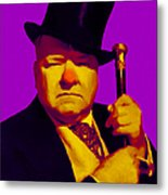 W C Fields 20130217m30 Metal Print by Wingsdomain Art and Photography