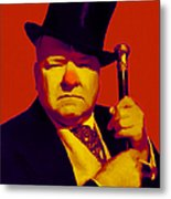 W C Fields 20130217p50 Metal Print by Wingsdomain Art and Photography