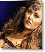 Warrior Woman 2 Metal Print by DerekTXFactor Creative