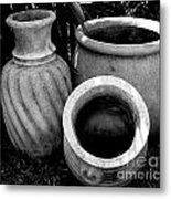 Water Jugs Metal Print