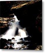 Waterfall- Viator's Agonism Metal Print by Vijinder Singh