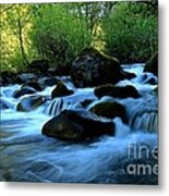 Waters Majestic Metal Print by Tim Rice