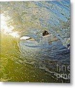 Wave Cave Metal Print by Paul Topp