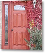 Welcome Home Metal Print by Margaret McDermott
